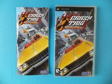 Crazy Taxi Fare Wars complet Sony PSP UMD-Pal & NTSC video game