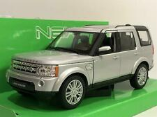 Land Rover Discovery 4 Silver 1:24/7 Scale Welly 24008S
