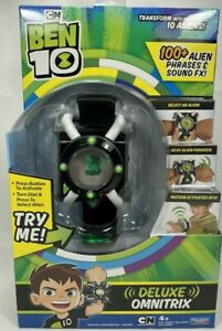 BEN 10 Electronic Deluxe Omnitrix Watch 100+ Phrases & Sounds Role Play 2nd Edit