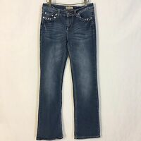 Earl Jeans Women's Jeans Pants Embellished Pockets Size 6 Cotton Straight Leg