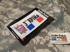 SNAKE PATCH - 3 ème RPIMa FRANCE