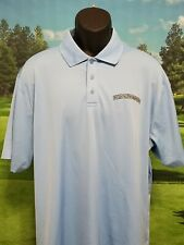 UNDER ARMOUR Golf Polo Shirt Baby Blue Size 2XL XXL