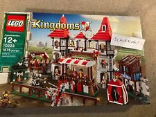 Lego 10223 Kingdoms Joust Brand New Factory Sealed 1575 pieces New Retired Set