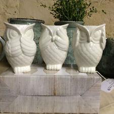 Unbranded Owl Candle & Tea Light Holders