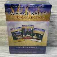 3 DVD SET WHEAT BELLY COLLECTION WITH WILLIAM DAVIS, M.D. NEW SEALED