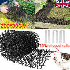 Cat Scat Mat Spike Anti-Cat Pest Dog Deterrent Garden Repellent Animal Scarer UK
