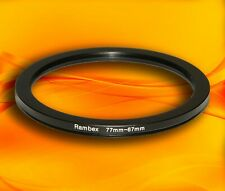 77mm to 67mm 77-67 Stepping Step Down Filter Ring Adapter 77-67mm 77mm-67mm (UK)