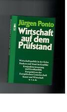 Wirtschaft auf dem Prüfstand - Jürgen Ponto - 1975