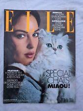 Magazine mode fashion ELLE French #2490 20 septembre 1993 Monica Bellucci