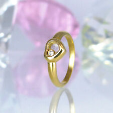 "Ring Chopard ""Happy Diamonds"" 750/- GG - 1 Diamant 0,05 ct. Top Wesselton/IF"