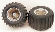 Replacement Pair of Wheels/Tires Playskool Bigfoot SST Battery Operated Truck