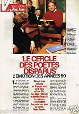 Coupure de presse Clipping 1990 (3 pages) Robin Williams Le Cercle des Poetes ..