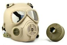 Maschera antigas militare tattica NATO M04 Maschera antigas integrale