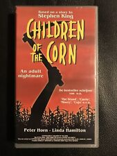 Children Of The Corn VHS Tape English with dutch subs Horror