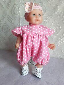 Vêtements de poupée corolle 30 cm, barboteuse et turban de poupée poupon