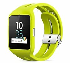 Sony Smart Watch (Lime) SONY SmartWatch 3 Bluetooth 4.0 Wristband SWR 50-G Japan