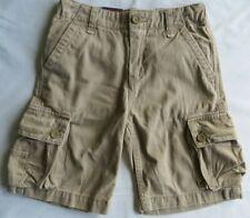 Levi's Jeans Boys British Khaki Cargo Shorts Adjustable Waist Regular Cotton 6