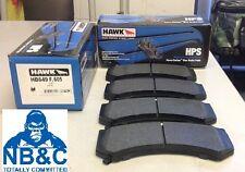 HAWK HPS FRONT BRAKE PADS suit CADILLAC CTS-V 6.2L V8 6 POT BREMBO FRONT