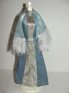 TV's Star Women Fashions #2484 TV Awards Night Blue Dress Shawl Kate Jackson