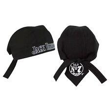 Jack Daniels Black Skull Cap Black