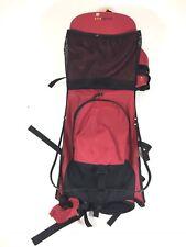 Sherpani Red Black Baby Toddler Kid Carrier Hiking Backpack