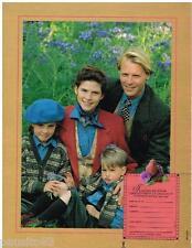 PUBLICITE ADVERTISING 095  1990  CYRILLUS pret à porter enfants homme catalogue