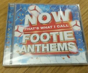 NOW Thats What I Call Footie Anthems CD Album 2018 New & Sealed - Free P&P