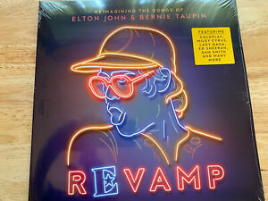 REVAMP: SONGS OF ELTON JOHN & BERNIE TAUPIN NEW SEALED DOUBLE VINYL LP COLDPLAY
