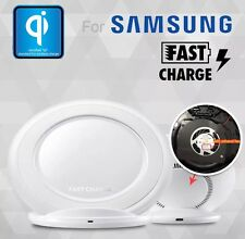 SAMSUNG QI WIRELESS FAST CHARGER STAND FOR GALAXY S6 S7 S8 APPLE IPHONE X