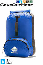 Aqua Quest Himal - 100% Waterproof Ultra-Light Dry Bag Backpack 20 L - Blue