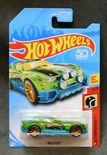 2018 Hot Wheels Car Rally Cat - F or H Case
