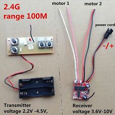 2.4G Transmitter & receiver 4 channel distance 100m / Differential turn RC boat