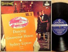 LONDON ffss BLUEBACK UK Sydney Lipton DANCING AT the GROSVENOR HOUSE V3 PS-161