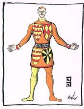Cecil Beaton Serigraph Costume Designed Picnic at Tintagel  Print