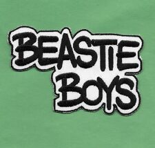 """New Beastie Boys 'White' 2 X 4 """" Inch Iron on Patch Free Shipping"""