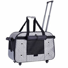 Cat Bag Carrier Chihuahua Kitten Handbag Pet Carrier Cage Case Trolley Suitcase