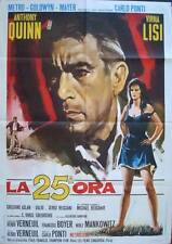 25th HOUR La 25eme HEURE Italian 2F movie poster 39x55 ANTHONY QUINN  VIRNA LISI