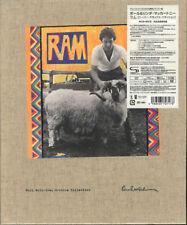 PAUL MCCARTNEY-RAM SUPER DELUXE EDITION-JAPAN 3 SHM-CD+DVD+BOOK Ltd/Ed AK50