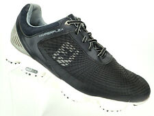 Footjoy FJ Hyperflex Golf Shoes Black White Men's Shoe Size 11.5 XW Extra Wide