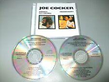 Joe Cocker - Jamaica Say You Will & Cocker Happy (2 CD Set) 22 Tracks - Ex Cond