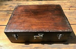 Vintage Antique Wooden Case Hand Made Cedar and timber.