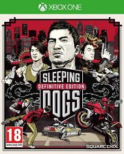 Sleeping Dogs Definitive Limited Edition (Xbox One) BRAND NEW SEALED