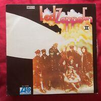 Led Zeppelin II rare ISRAEL LP Page Plant hard rock