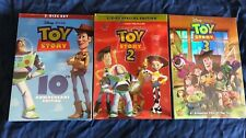 Toy Story DVD 1,2,3 Trilogy Sealed Brand New Bundle Disney Movies Sealed