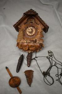 Wooden German Cuckoo Clock