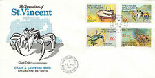 Used British St Vincentian First Day Cover Stamps
