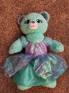 Build A Bear BAB Disney Little Mermaid Ariel Limited Edition Plush Dress Sound