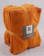 Burnt Orange Towel Bale 5 Pc Set Pack 2 Bath Towels 2 Hand Towels 1 x Face Towel