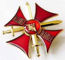 For Service In Caucasus Real Russian Army Officer Distinction Cross Badge + Doc