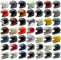Biltwell Motorcycle Helmet - Bonanza - Gringo - Gringo S - Choose Size & Color